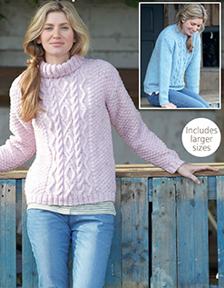 a43c4baa1 Aran sweaters Hayfield 7988 Digital Download