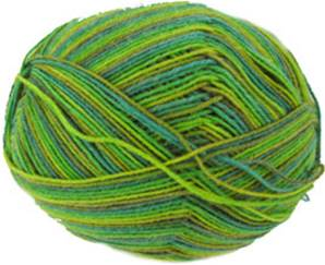 Trekking 4 ply sock yarn, 472 Green
