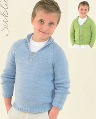 Sublime 6078, cardigan and sweater