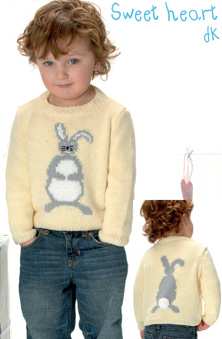 DK bunny sweater Peter Pan 1120 Download