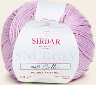 Snuggly 100% cotton DK 769 Dusty Rose
