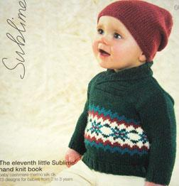 Sublime 663, Eleventh Little Sublime Hand Knit Book