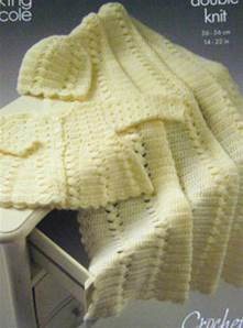 Crochet layette King Cole 3259