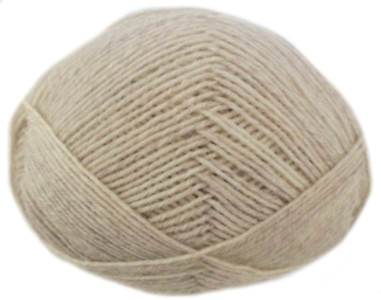 Regia 4 ply sock yarn, Pale Oatmeal 2143