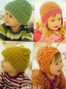 DK hats Sirdar 1242 Digital Download