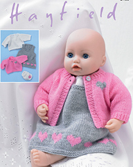 Hayfield 2485 DK dolls clothes, Digital Download