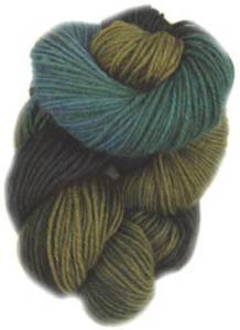 Lornas Laces Shepherd Sock 4 ply, Forest