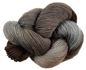 Lornas Laces Shepherd Sock 4 ply, Mineshaft