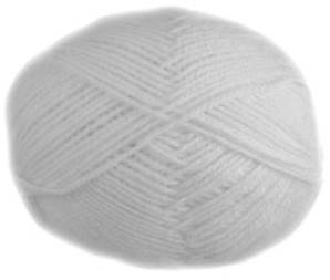Regia 2080 White 4 ply sock yarn