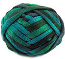 Katia Ondas scarf yarn, 73 sea blue