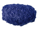 Unbranded boucle yarn in Navy, approx DK