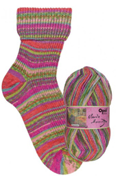 Opal Monet sock yarn 9684 Japanese Bridge