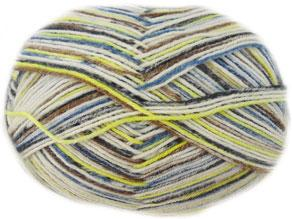 Opal 4 ply sock knitting yarn, Creme 1018
