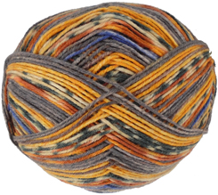Austermann 6 ply sock yarn, 607