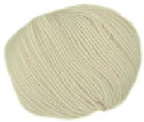 Filatura Di Crosa Baby Love 4 ply shade 4, pale cream.