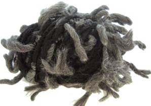 Katia Polo Sur scarf yarn, 404 black grey