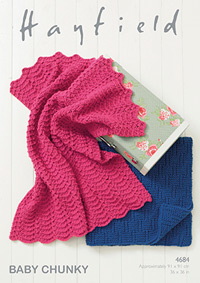 Chunky blankets Hayfield 4684 Digital Version