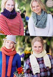 Snoods and scarves Sirdar 9825