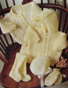 Pram set Stylecraft 4005