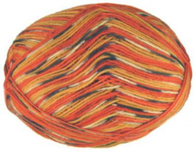 Schoppel Wolle, Intarsia orange red 1800