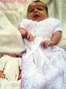 Christening dress Wendy 1106
