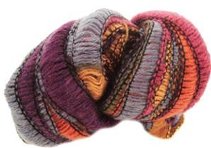 Wendy Frills scarf yarn 2653, autumn shades