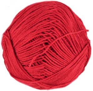 Katia Mississippi 3 4 ply, 314 bright red