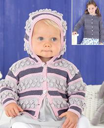 DK girls cardigans Sirdar 4522, Digital Version
