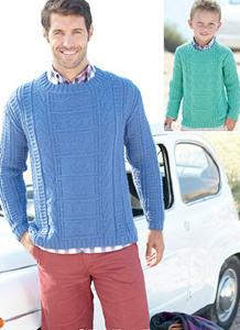 DK sweater Sirdar 7033 Digital Download