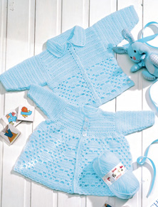 DK babies coat and cardigan Peter Pan 903 Download