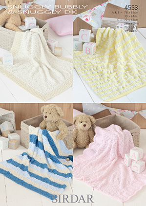 DK blankets Sirdar 4553 Digital Download