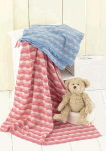 Crochet DK blankets Sirdar 4813 Digital Download