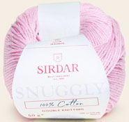 Snuggly 100% cotton DK 760 Florida Pink