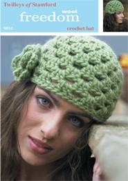 Crochet hat Twilleys 9014, digital download