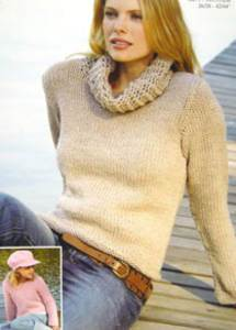 Sweater Sirdar 8747