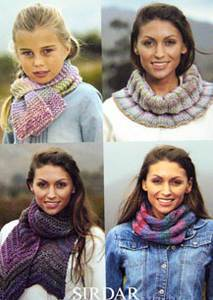 Scarves and snoods Sirdar 9459