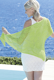 Crochet shawl in 4 ply Sirdar 7745 Digital Download
