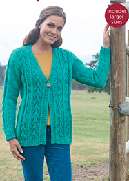 Hayfield 8024 cardigan Digital Download
