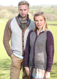 DK unisex cardigans Wendy Ramsdale 5792 digital download