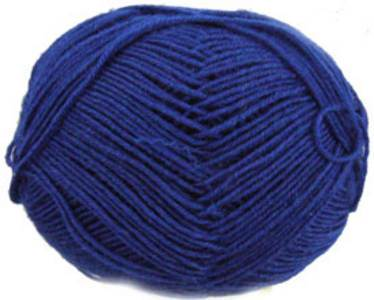 Regia 4162 Royal Blue 4 ply sock yarn