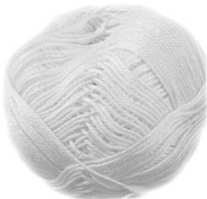 Wendy Supreme pure cotton DK 1820, White