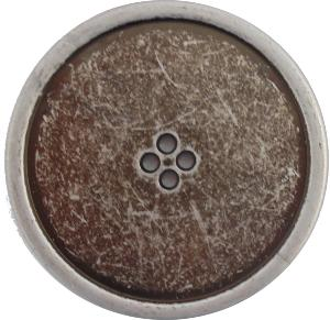 B1005 Round silver buttons 50mm and 60mm