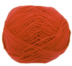 Cygnet Wool Rich 4 ply yarn, 2150, Rust