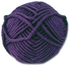 Hayfield Chunky with wool, 701 Blackberry