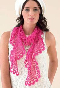 Crochet scarf Sublime 6090