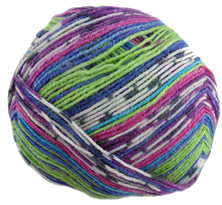 Opal 4 ply sock yarn Illusion 9312, Sportpilot