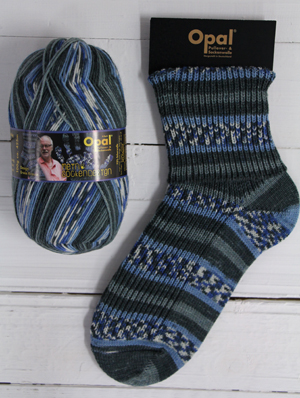 Opal sock yarn 9374 Baltic Beach | Opal My Sock Design