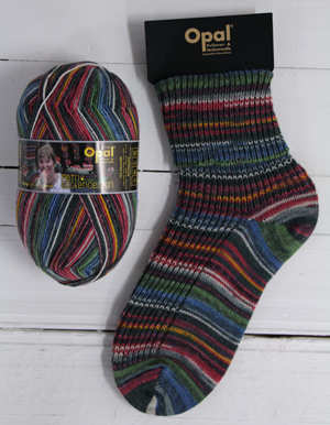 Opal sock yarn 9377 Railroad Romance | Opal My Sock Design