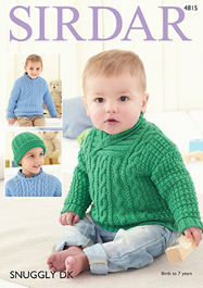 DK sweaters Sirdar 4815 Digital Download