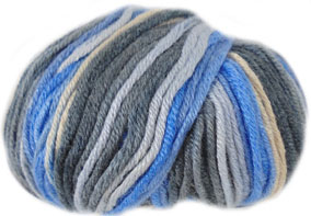 Sirdar Snuggly Smiley Stripes DK Bambini Blue 264
